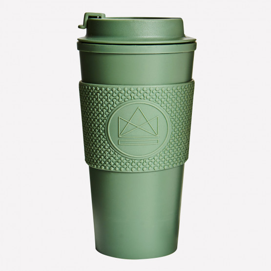 Neon Kactus Happy Camper  Double Walled Thermos 450ml