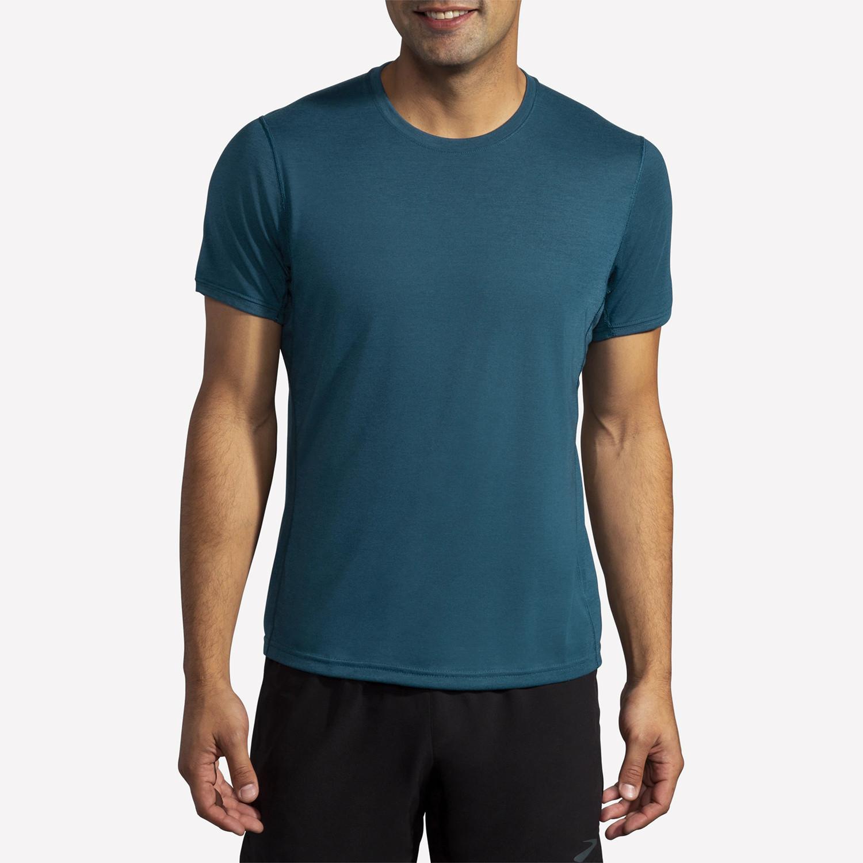 Brooks Distance Κοντομάνικη Ανδρική Μπλούζα (9000087094_55125)