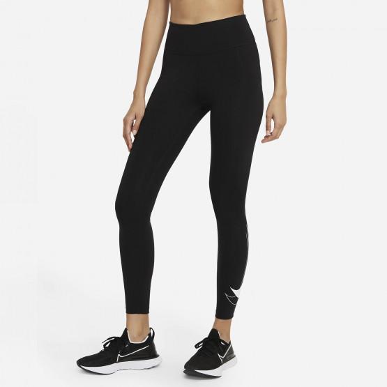 Nike Dri-FIT Swoosh Run 7/8 Γυναικείο Κολάν