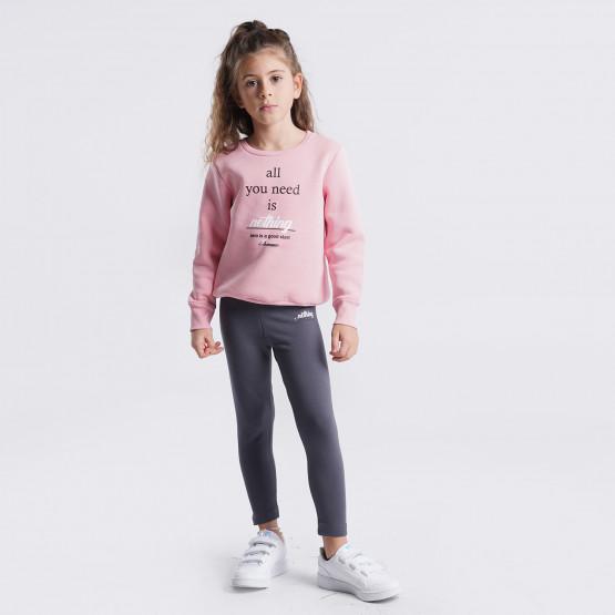 """Target """"Nothing"""" Kid's Set Τ-Shirt & Leggings"""