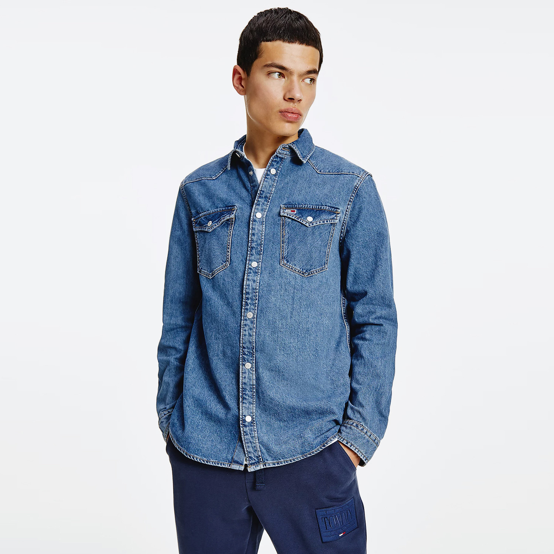 Tommy Jeans Western Denim Ανδρικό Πουκάμισο (9000090030_18492)