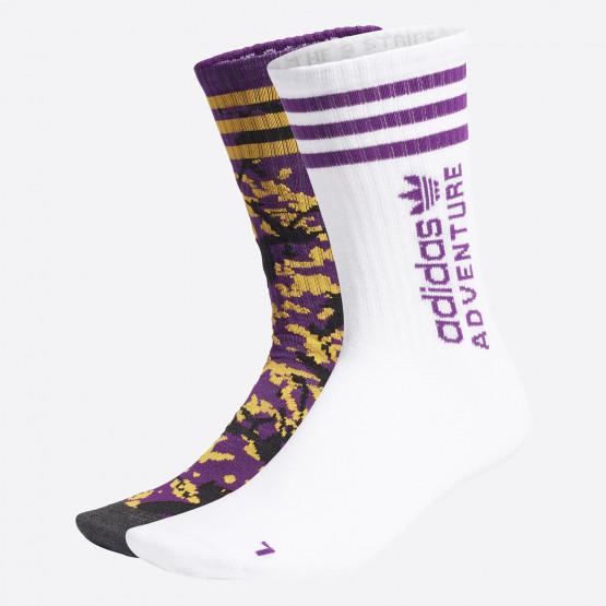 adidas Originals Adventure Unisex Κάλτσες 2 Τεμάχια