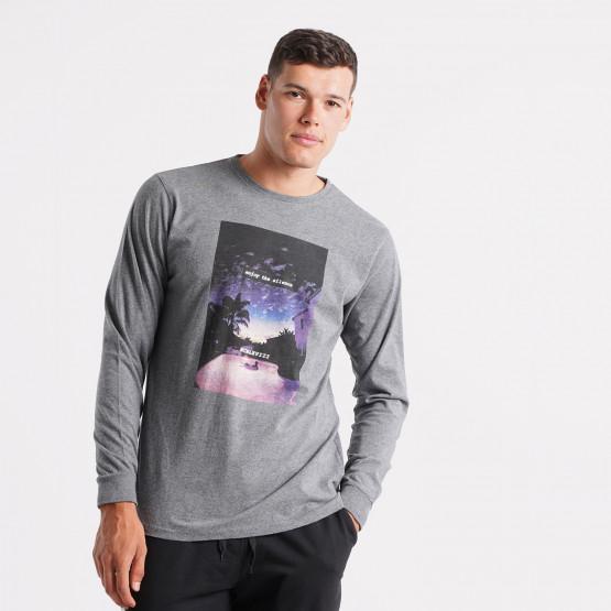 Basehit Sky Men's Long-Sleeve T-shirt