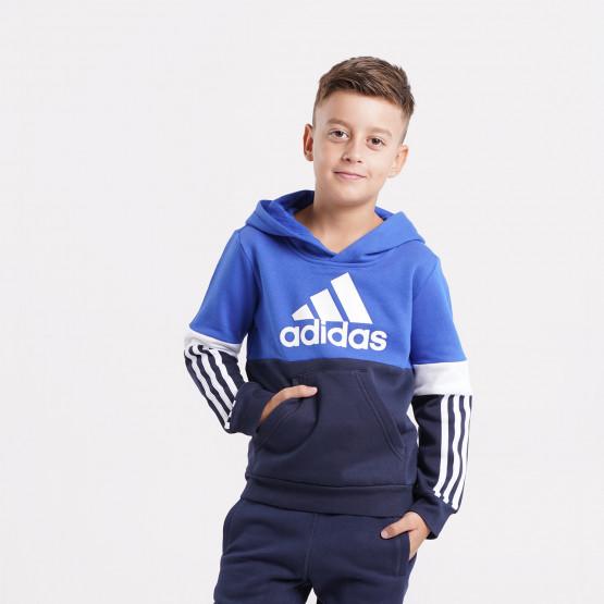 adidas Performance Fleece Παιδική Μπλούζα με Κουκούλα