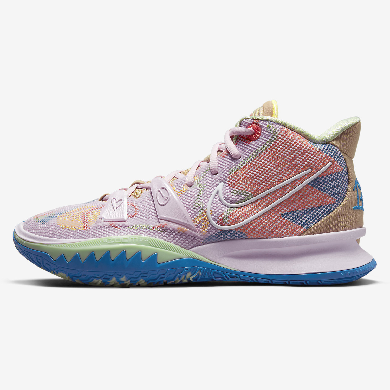 "Nike Zoom ""1 World 1 People"" Kyrie 7 Basketball Shoes (9000080328_53228)"