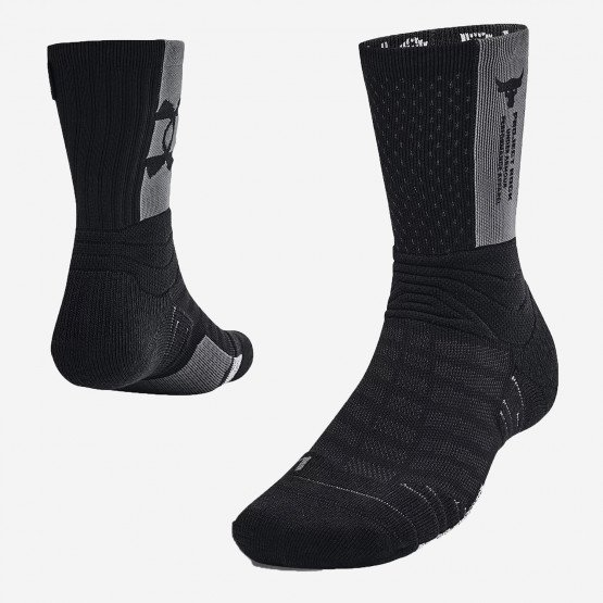 Under Armour Project Rock Playmaker Mid-Crew Unisex Socks