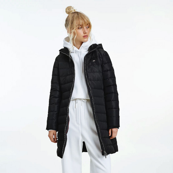 Tommy Jeans Essential Quilted Down Γυναικείο Μπουφάν