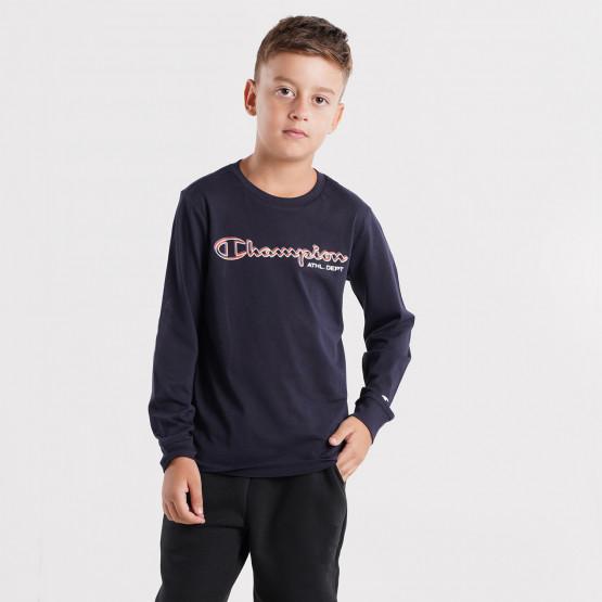 Champion Long Sleeve Crewneck Kids' T-Shirt