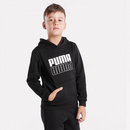 Puma POWER Logo Hoodie FL B