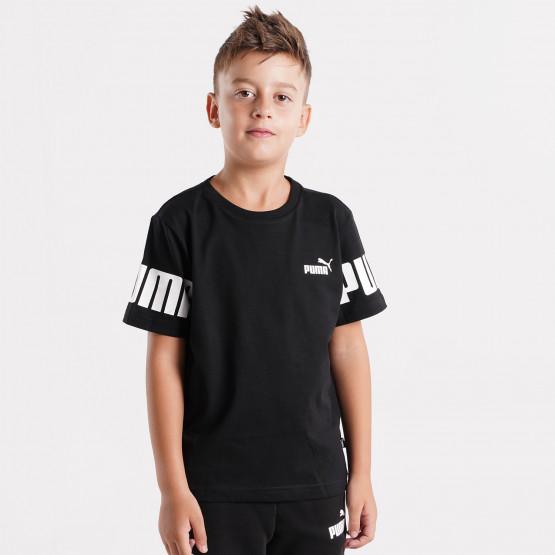 Puma POWER Colorblock Kid's T-shirt