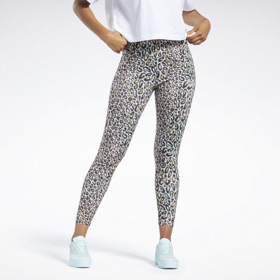 Reebok Classics Halloween Leopard High-Rise Women's Leggings