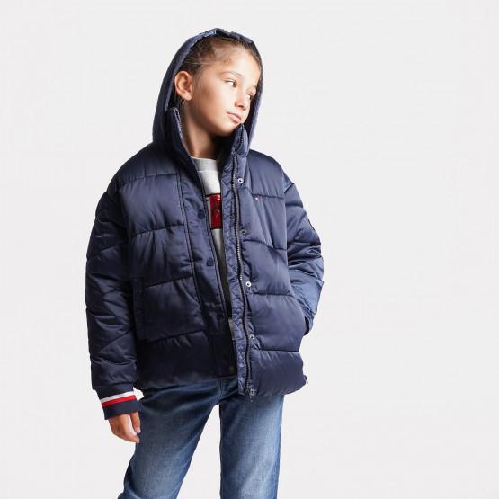Tommy Jeans Satin Kids' Puffer Jacket