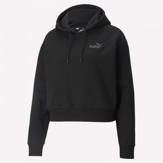 Puma Essentials Embroidered Cropped Women's Hoodie