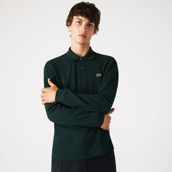 Lacoste Classic Fit Men's Long Sleeve Polo