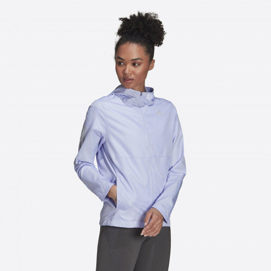 adidas Performance Own The Run Hooded Women's Wind  Jacket