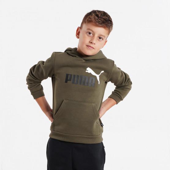 Puma Essentials Logo Παιδική Μπλούζα με Κουκούλα