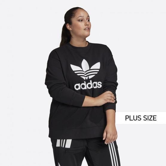 adidas Originals Trefoil Crew Γυναικείο Φούτερ Plus Size