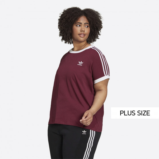 adidas Originals 3-Stripes Women's Plus Size T-shirt