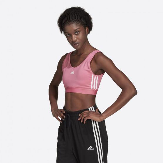 adidas Performance 3-Stripes Γυναικείο Αθλητικό Μπουστάκι