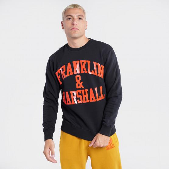 Franklin & Marshall Ανδρική Μπλούζα Φούτερ