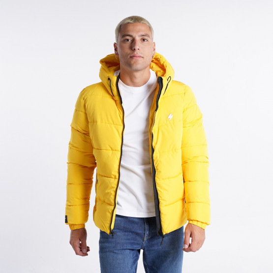 Superdry Hooded Sports Men's Puffer Jacket