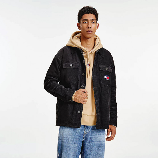 Tommy Jeans Lined Cord Ανδρικό Πουκάμισο