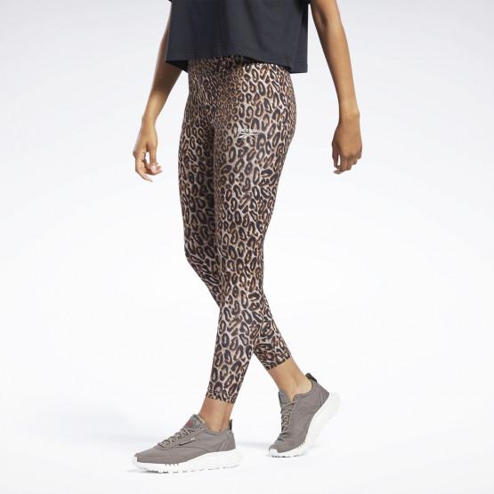 Reebok Classics Halloween Leopard High-Rise Γυναικείο Κολάν