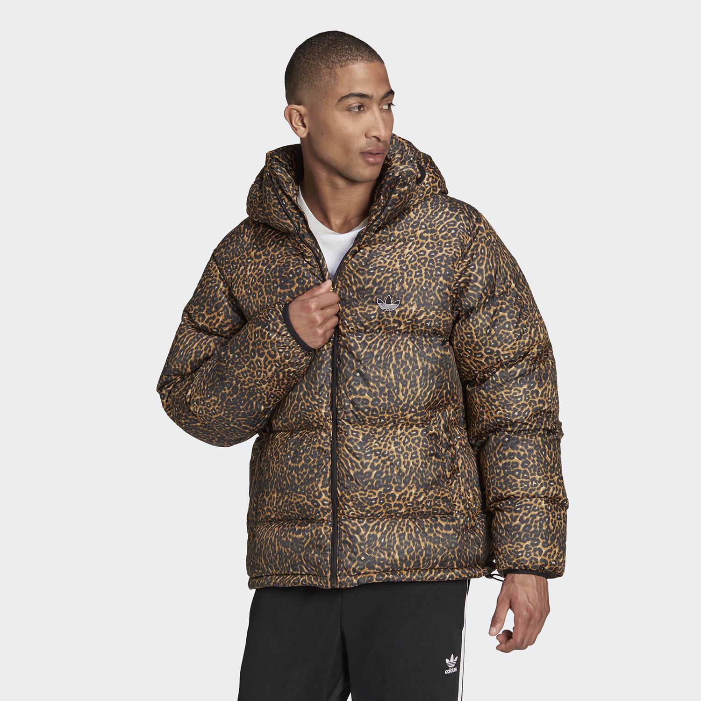 adidas Originals Down Animal-Print Puffer Ανδρικό Μπουφάν (9000084421_5775)