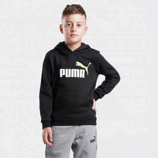 Puma Essentials Big Logo Παιδική Μπλούζα με Κουκούλα