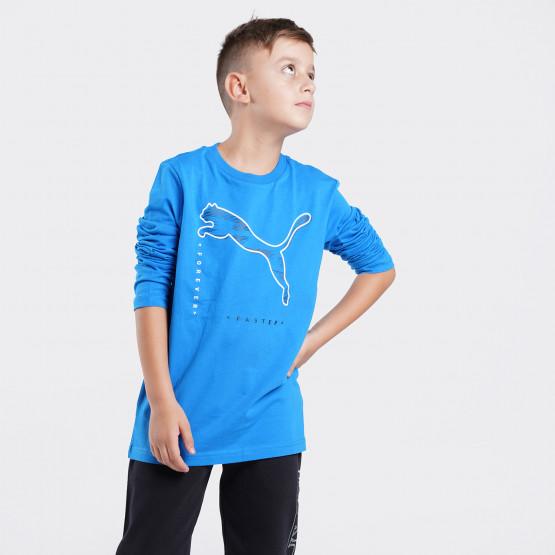 Puma Active Sports Παιδική Μπλούζα με Μακρύ Μανίκι