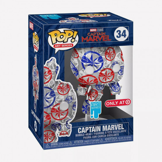 Funko Pop! Artist Series Marvel: Captain Marvel  Figure