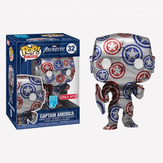 Funko Pop!  Artist Series: Patriotic Age - Captain America Figure