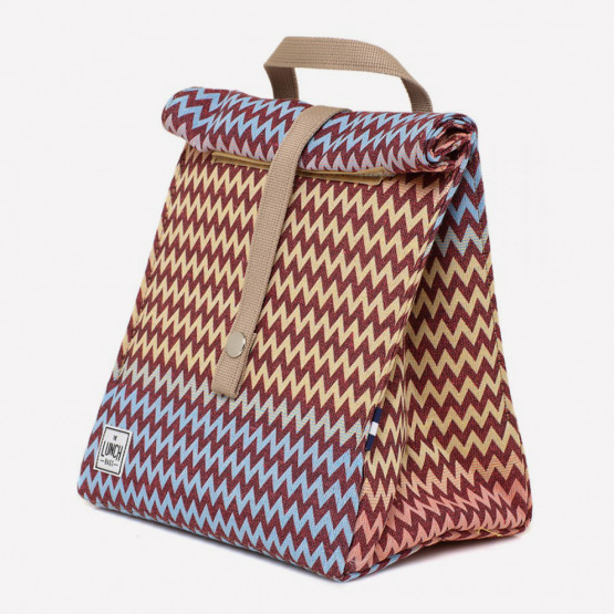 The Lunchbags The Original Waves Τσάντα Φαγητού 21 x 16 x 24 cm