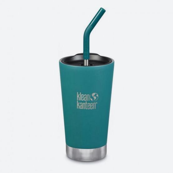 Klean Kanteen KLK Insulated Tumbler Ποτήρι Θερμός με Καλαμάκι 473ml
