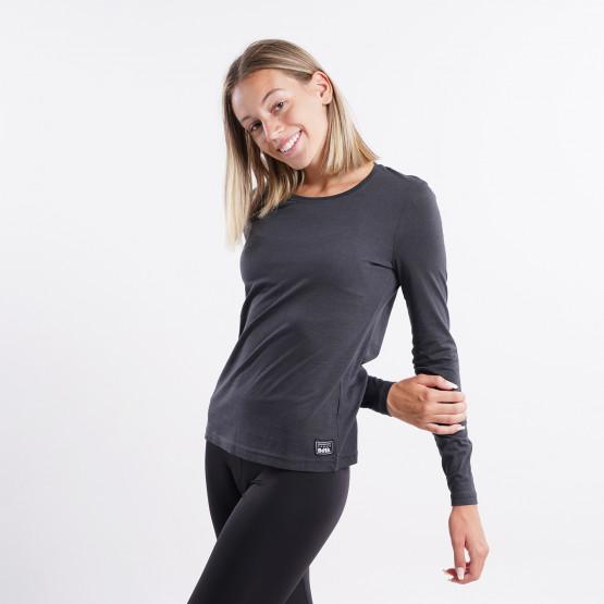 BodyTalk Slim Top Γυναικεία Μπλούζα με Μακρύ Μανίκι