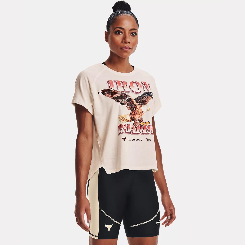 Under Armour Project Rock Γυναικείο T-Shirt (9000087489_55202)