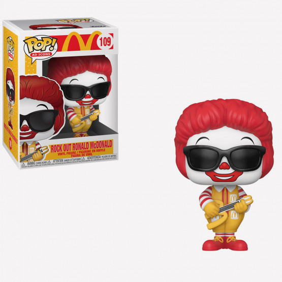 Funko Pop! Ad Icons: McDonald's 109- Rock out Ronal Figure