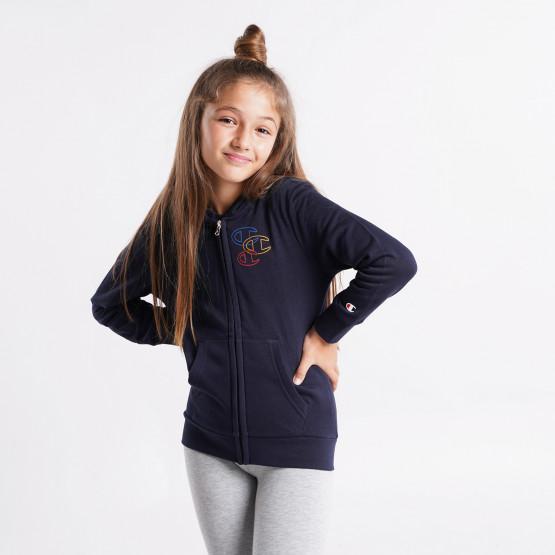 Champion Hooded Full Zip Kid's Sweatshirt