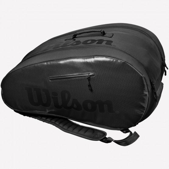 Wilson Padel Super Tour Bag Bk