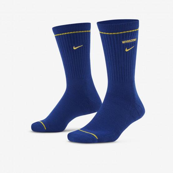 Nike Golden State Warriors Courtside NBA Crew Unisex Κάλτσες