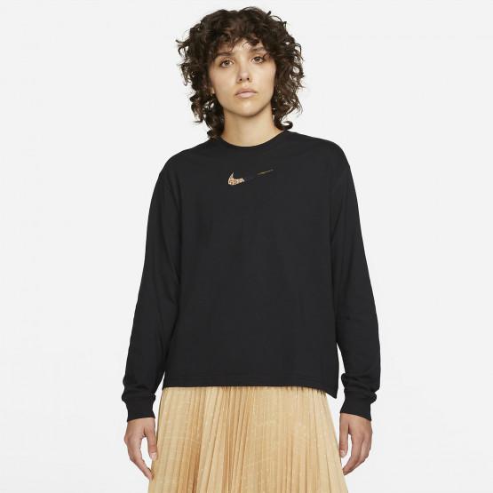 Nike Sportswear Γυναικεία Μπλούζα με Μακρύ Μανίκι
