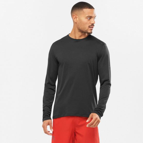 Salomon Agile Ανδρική Μπλούζα Με Μακρύ Μανίκι Για Τρέξιμο