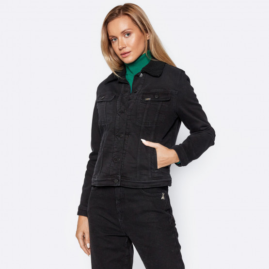 Lee Sherpa Rider Γυναικείο Denim Jacket