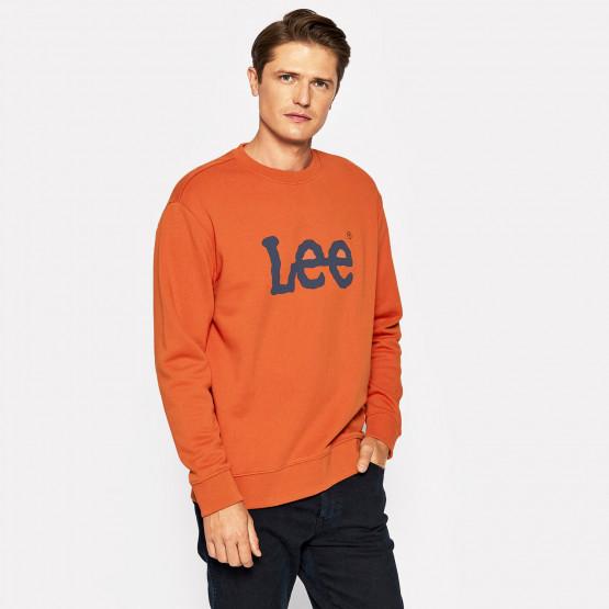 Lee Basic Crew Logo Men's Sweatshirt