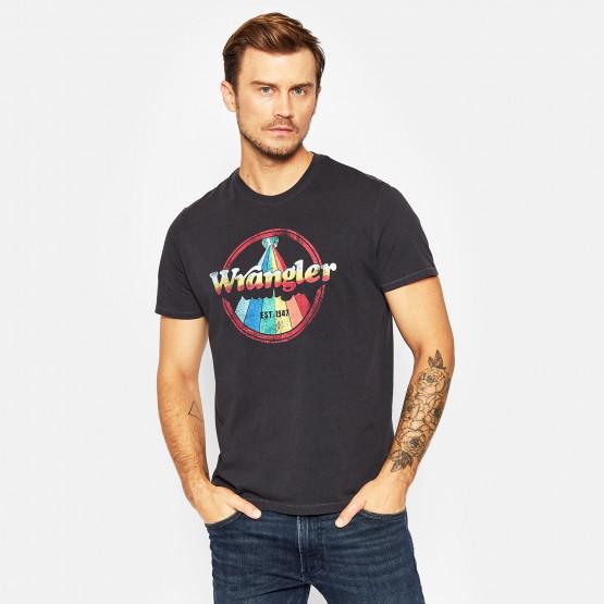 Wrangler Rainbow Ανδρικό T-shirt