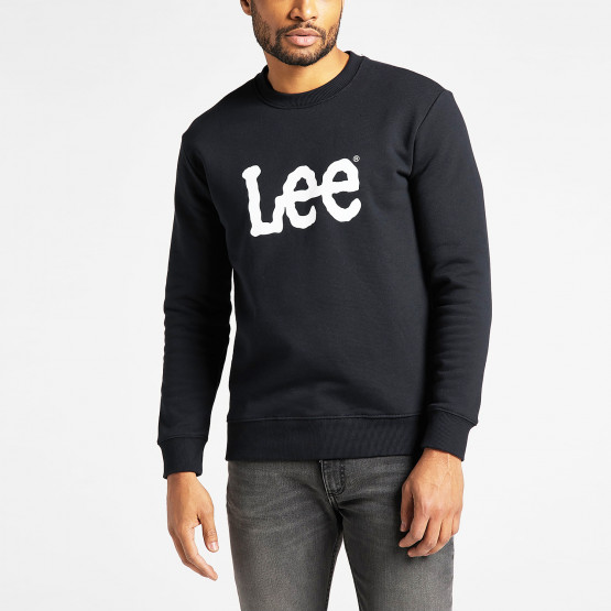Lee Basic Crew Logo Ανδρικό Φούτερ