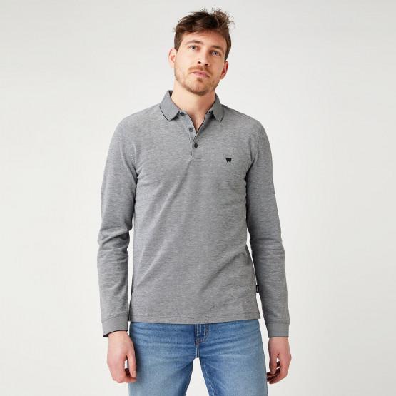 Wrangler Refined Polo Men's Long Sleeves Blouse
