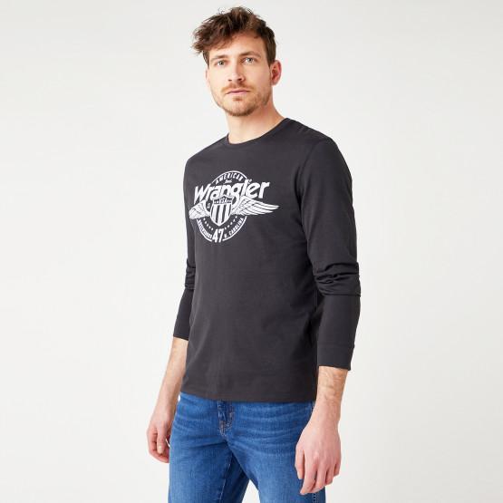 Wrangler Americana Men's Blouse With Long Sleeves
