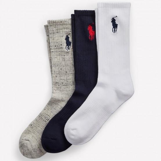 Polo Ralph Lauren Big Pony 3Pack Crew Men's Socks