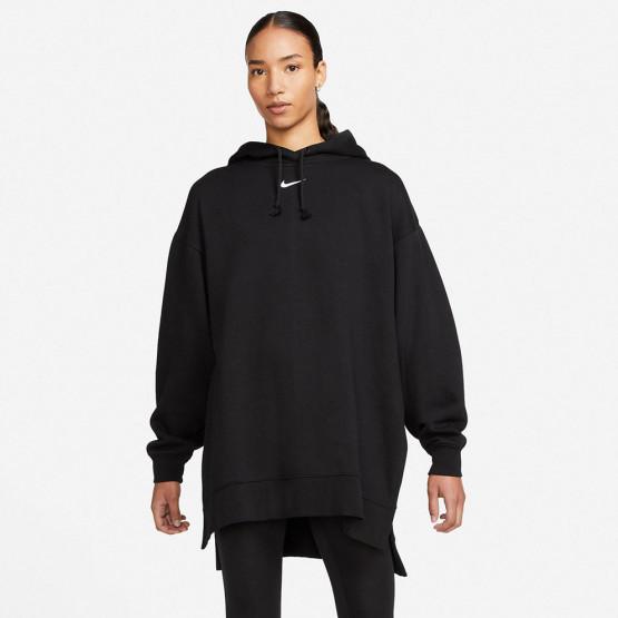 Nike Sportswear Essential Fleece Γυναικεία Μπλούζα με Κουκούλα